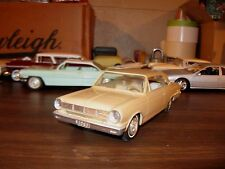 1965 Rambler American 2-door HT 1/25 scale Jo-Han friction promo model - Nice 1