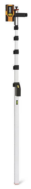 geo-Fennel Teleskopmeßstab Teleskopmeter Laser EasyFix 5m mit Tasche