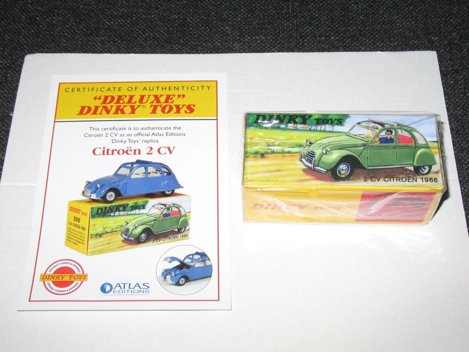 DINKY ATLAS ATLAS ATLAS DELUXE CITROEN 2CV (New Mint Sealed) 264438