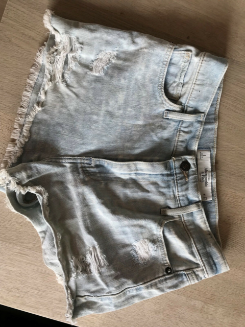 Shorts, Abercrombie & Fitch, str. 27,  Lyse,  Denim