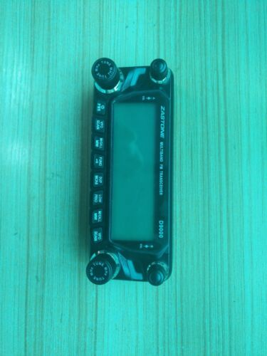 The screen display for Zastone D9000 Car Mobile transceiver Radio