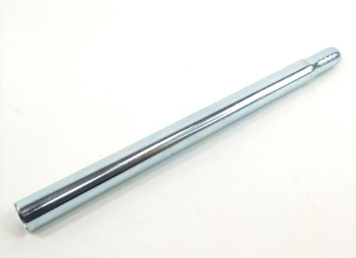 "WALD STEEL PILLAR 25.4mm x 15/"" SILVER BICYCLE SEAT POST"
