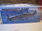 ACADEMY MAQUETTE KIT A MONTER AVION MESSERSCHMITT Bf-109E 1/72 NEUF