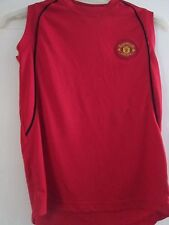 Manchester United Sleeveless Football Shirt large boys  /41442