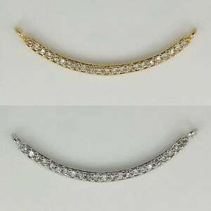 Rhinestone Connector Pendants Charms - Necklace Earrings Bracelets supplies #41