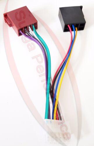 Radio adaptador para cables Pioneer para coche radios 12 polos ISO conector deh 434 R