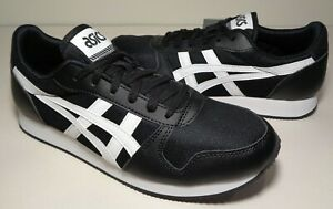 Asics Tiger Size 8.5 M CURREO II Black White Sneakers New Womens Shoes