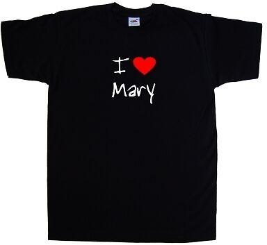 I Love Heart Mary T-Shirt