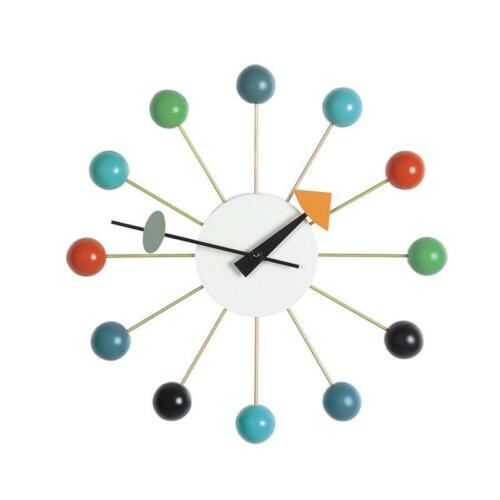 George Nelson MULTICOLORE BALL CLOCK Vitra Orologio a parete