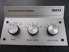 QED Quadraphonic Synthasiser surround sound synthesizer adapter BNIB rare
