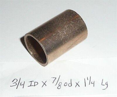 Oilite Bushing Bronze New 3//4 id x 1 od x 1 Brass bearing shim spacer Sleeve B67