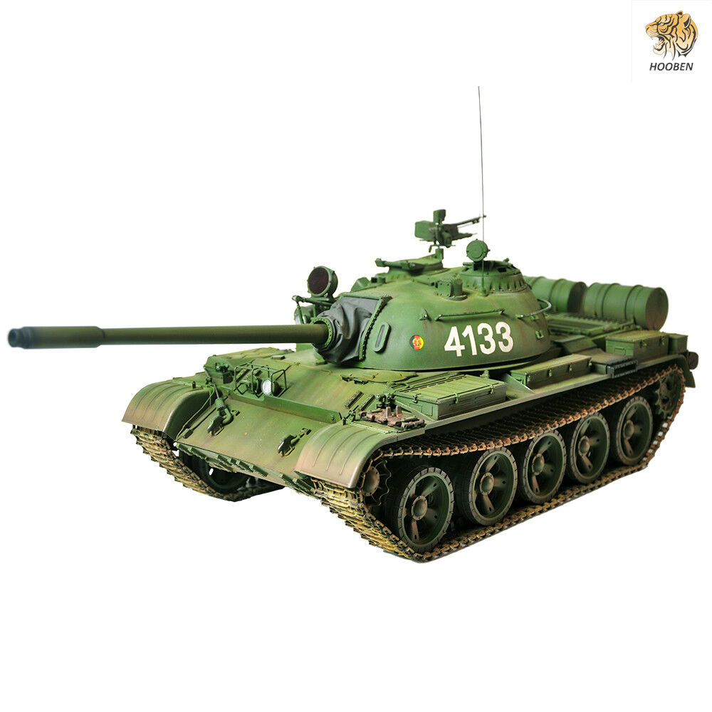 Hooben Classical Collection Tank Model 1 16 Static Kit T55A Russian Heavy Tanks