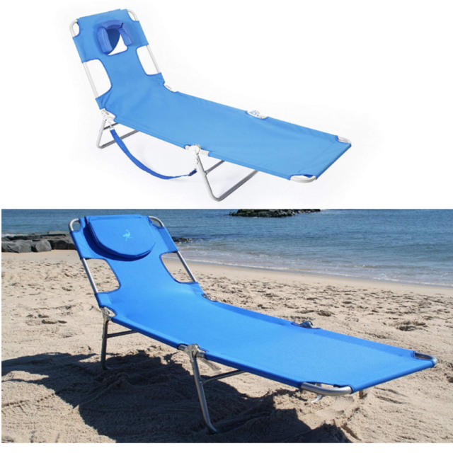 Brilliant Outdoor Folding Reclining Beach Sun Patio Chaise Lounge Chair Pool Lawn Lounger Caraccident5 Cool Chair Designs And Ideas Caraccident5Info