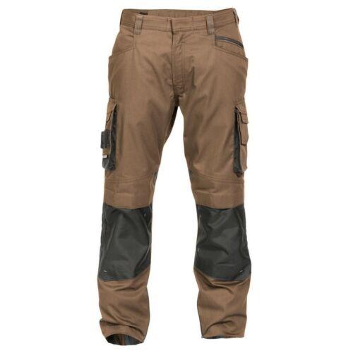 DASSY Nova Professional Waistband Trousers Work Trousers Workwear Work Wear Brown