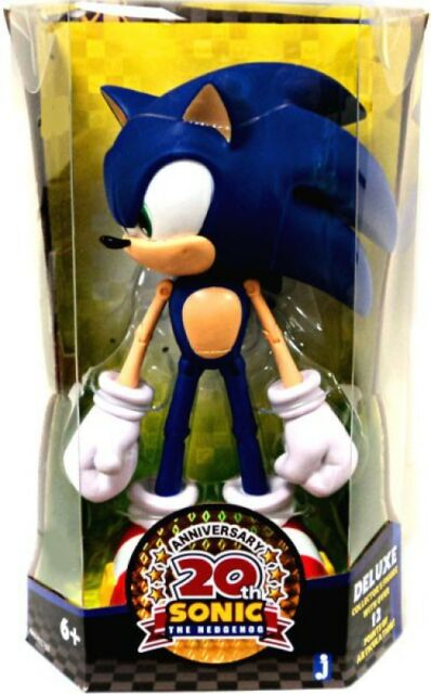 Jazwares Modern Sonic The Hedgehog Deluxe 10 Inch Figure 20th Anniversary For Sale Online Ebay