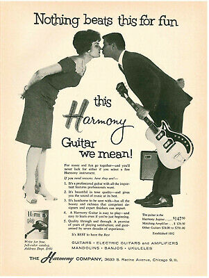Harmony guitar dating