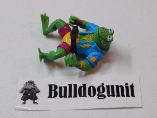 Genghis Frog w// Belt Figure Teenage Mutant Ninja Turtles 1989 TMNT