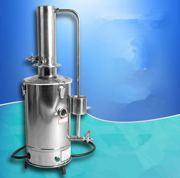 5L H Auto electrical Electrothermal Stainless water distiller distilled purifier