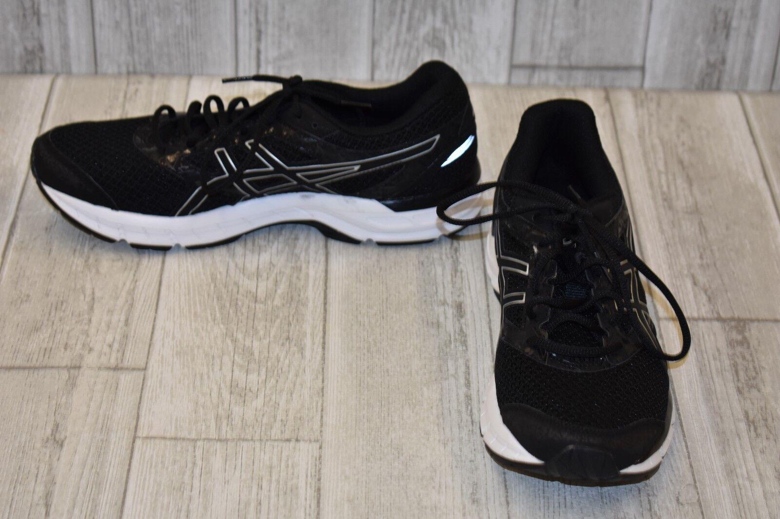 le uomo scarpe da ginnastica gel - 4 - uomo le numero 9,5 - black / silver aef846