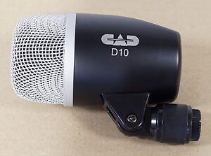 NEW CAD Audio D10 Bass & Kick Drum Mic Dynamic Cardioid D 10