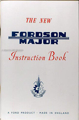Fordson Major Tractor Repair Shop Manual 1953 1954 1955 1956 1957 1958 1959 1961