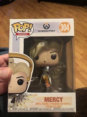 Figure Toy #304 FUNKO NEW MIB Overwatch Video Game Mercy Vinyl POP