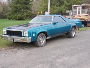 1976 Chevrolet El Camino Two Tone