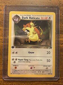 Dark Raticate 51//82 Team Rocket Pokemon Card