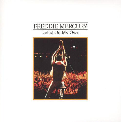 1 von 1 - Freddie Mercury - Living On My Own / My Love Is Dangerous Queen white vinyl new