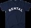 RENTAL t-shirt as worn by Frank Zappa classic rock music gift tee