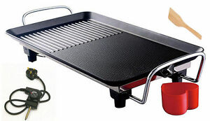 Image Is Loading Electric Non Stick Table Top Grill Hot Plate