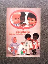 K726- Advertising Pubblicità -1980- CICCIOBELLO SEBINO , IL GIOCO DELL'AFFETTO