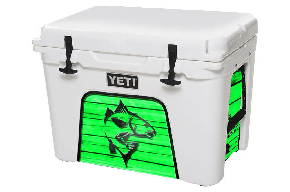USATuff Cooler Decal Wrap fits YETI Tundra 45qt Lower Insert Redfish Green