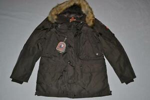 AUTHENTIC-PARAJUMPERS-KODIAK-ECO-MEN-PARKA-BUSH-XL-XLARGE-BRAND-NEW
