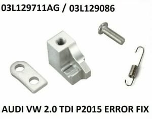 For Skoda VW 2.0 TDI Intake Manifold P2015 Error Motor Repair Bracket
