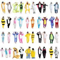 Hot Unisex Adult Pajamas Kigurumi Cosplay Costume Animal Onesie Sleepwear Suit