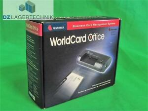 Details Zu Penpower Worldcard Office Visitenkartenscanner Business Card Scanner Scangerät