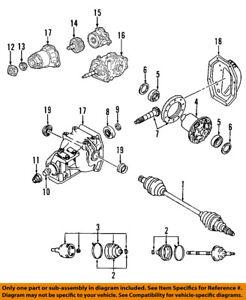 image is loading mazda-oem-07-14-cx-9-rear-axle-