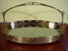 WMF 30's vintage Silverplate art deco Makeup Cosmetics Tray