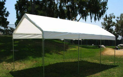 EZ Travel Collection Extra Heavy Duty Tarp 3-Ply Coated Reinforced Canopy