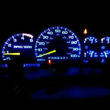 7pcs Blue Color Led Dash Cer Light Kit For Nissan 300zx Z32 Fairlady Z