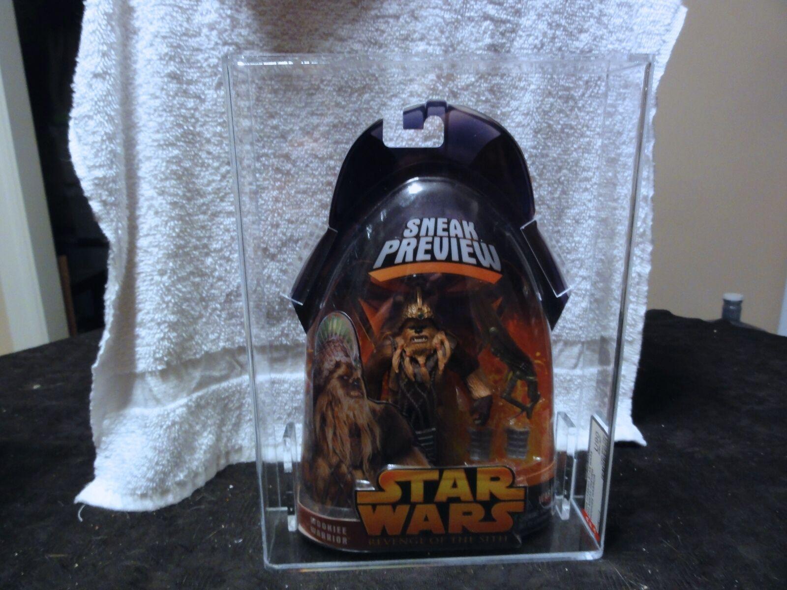 Star - wars - 2005 ep3 verrottet wookiee krieger afa versiegelt mib - box
