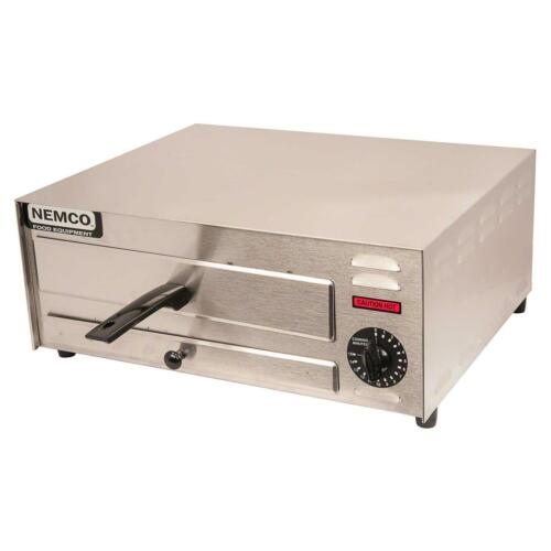 """Nemco 6215 Pizza Oven Counter Top Electric Single Deck Fits 12/"""" Pizzas"""