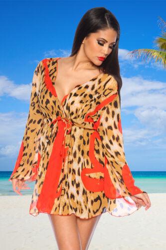 Tunika mit Leoparden-Print