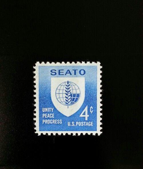 1960 4c SEATO, Southeast Asia Treaty Organization Scott