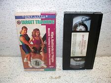 Tony Little Target Training Hips, Buttocks & Thighs Reduction System VHS Video