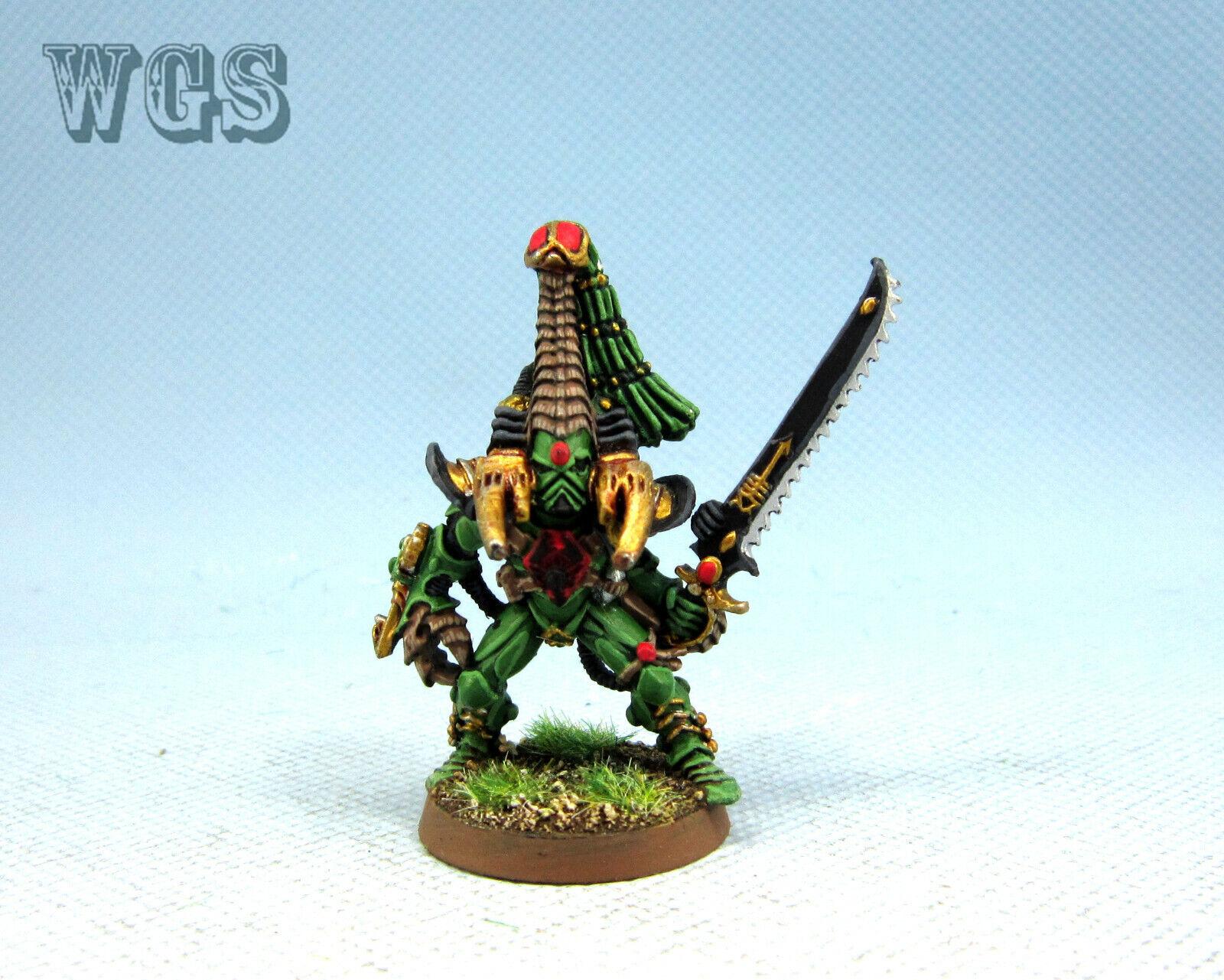 25mm Warhammer 40K WGS  Painted Eldar Phoenix Lord Kareras EL044  online economico