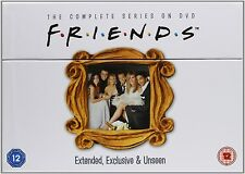 FRIENDS The COMPLETE SERIES SEASONS 1+2+3+4+5+6+7+8+9+10 DVD BOXSET 40 DISC 1-10
