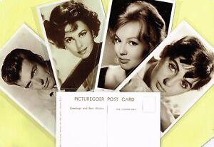 PICTUREGOER-039-S-039-Series-1950s-1960s-FILM-MUSIC-STAR-Postcards-S121-to-S180