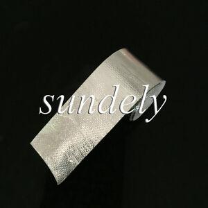 "Performance Reflect Silver Exhaust Manifold Heat Wrap Reflective Tape 2"" x 15'"